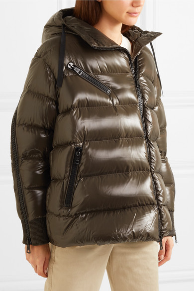fc7723c9bb696 Moncler | Liriope quilted glossed-shell down jacket | NET-A-PORTER.COM