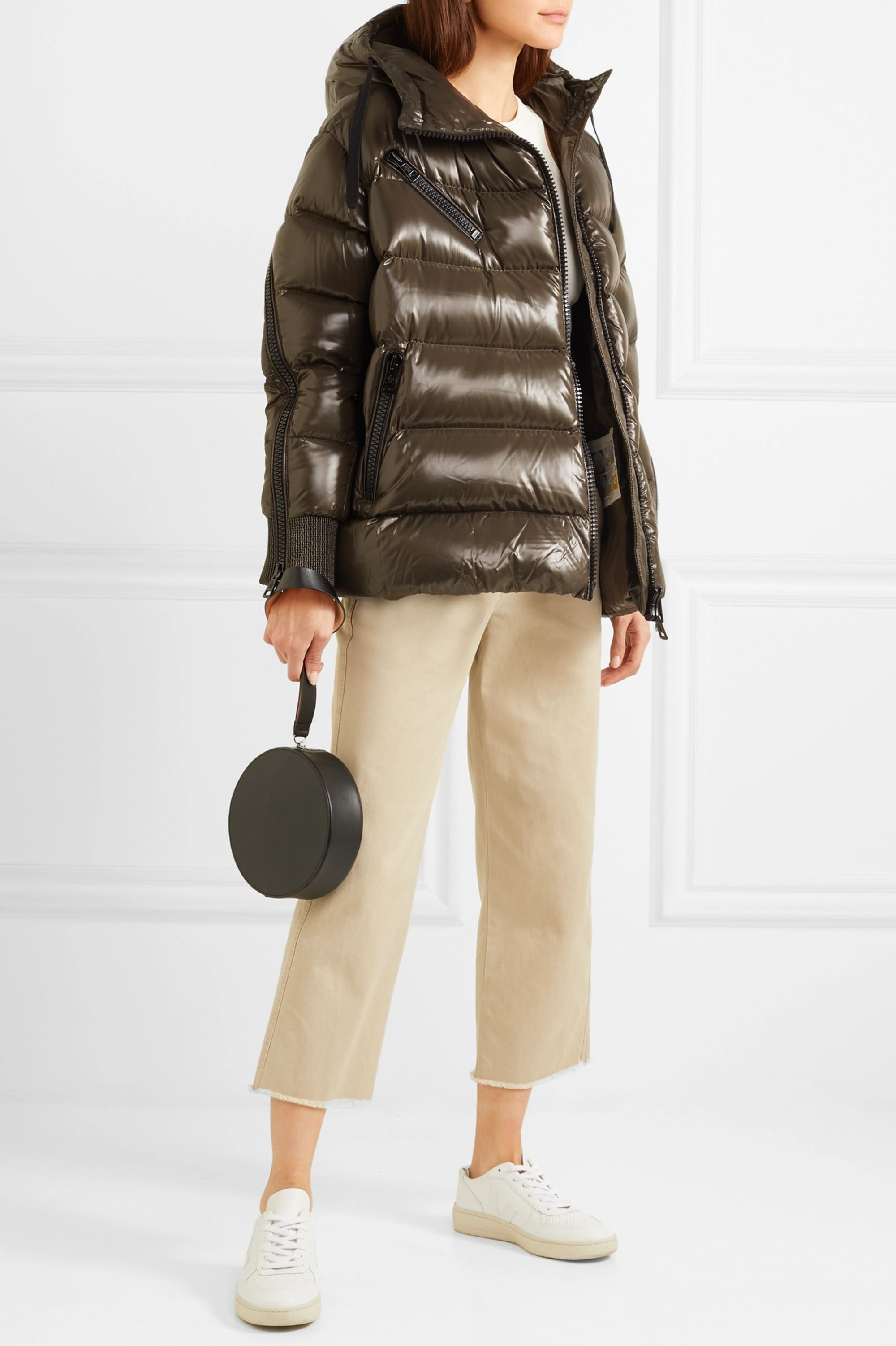 Moncler Akebia quilted down jacket (€1