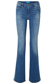 Marrakesh high-rise flared jeans