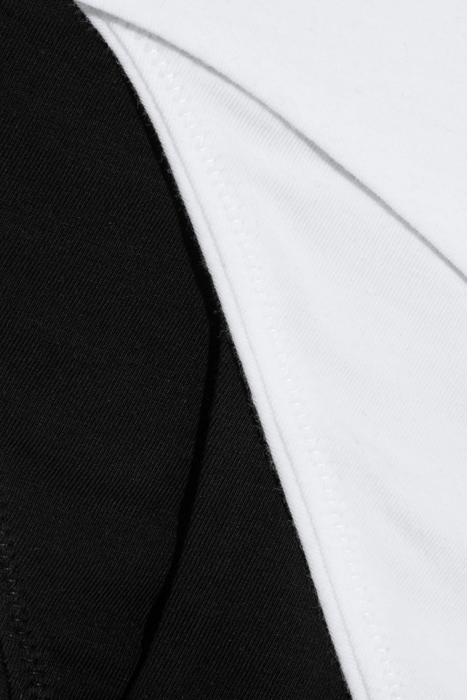 Skin + NET SUSTAIN Aja set of two stretch organic Pima cotton-jersey briefs