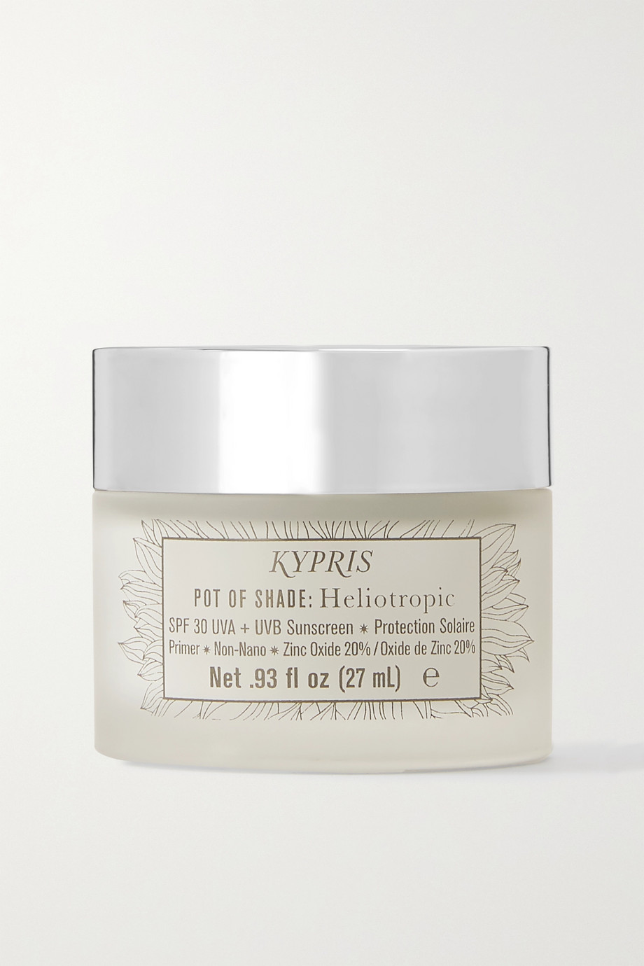 Kypris Beauty Pot of Shade: Heliotropic LSF 30 Sunscreen & Primer, 27 ml – Sonnencreme & Primer