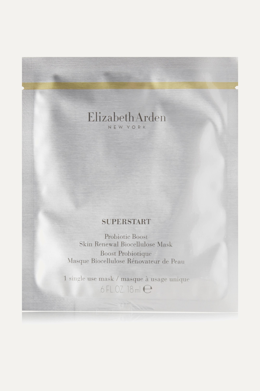 Elizabeth Arden Superstart Probiotic Boost Skin Renewal Biocellulose Mask x 4