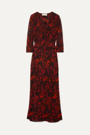 88e289d9 GANNI | Bijou leopard-print cotton-poplin wrap dress | NET-A-PORTER.COM