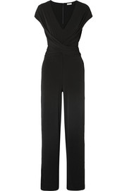 Jaxia stretch-jersey jumpsuit