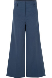 By Malene Birger Kekoa crepe wide-leg pants