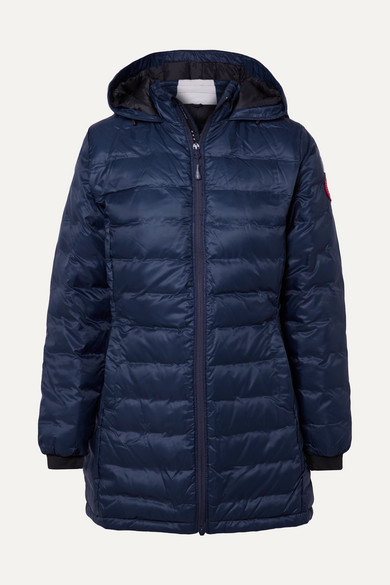 canada goose camp hooded jacket admiral blue