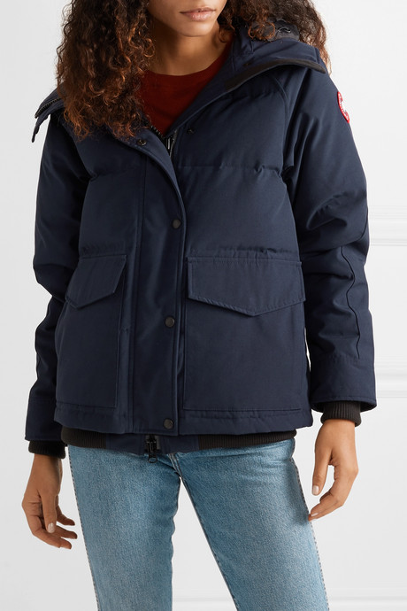 Deep Cove quilted shell down jacket
