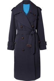 The Regina oversized wool-gabardine trench coat