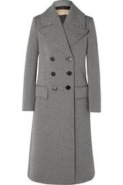버버리 Burberry Herringbone wool-blend tweed coat