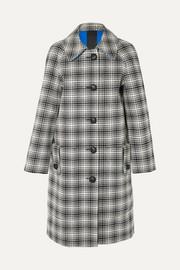 버버리 Burberry Checked wool coat