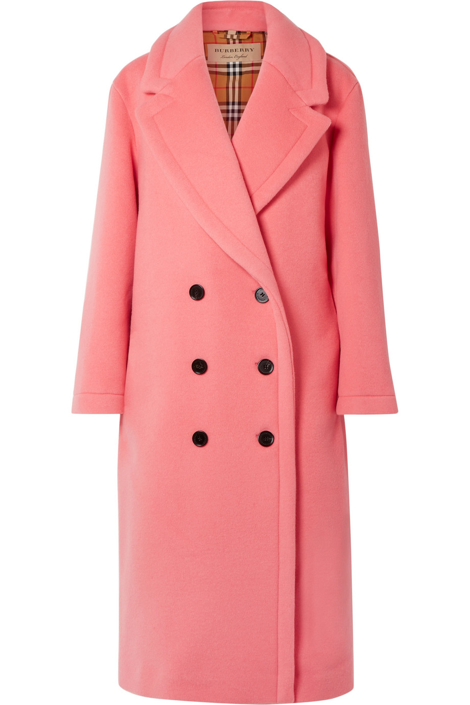 Burberry Oversized double-breasted wool and cashmere-blend coat