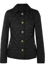 Quilted shell jacket