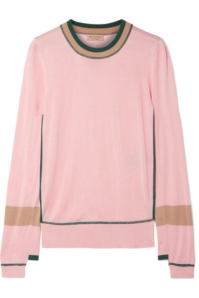 Mancos Silk And Cashmere Blend Sweater by Burberry