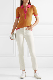 Yellowstone ribbed cashmere and silk-blend sweater