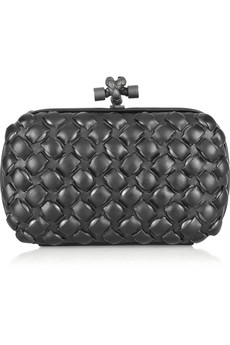 Bottega Veneta | Knot intrecciato leather clutch | NET-A-PORTER.COM from net-a-porter.com