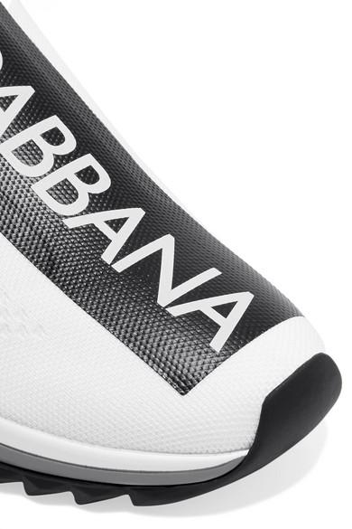 Dolce Sneakers & Gabbana | Sorrento Sneakers Dolce aus Mesh mit Logoprint e05a63