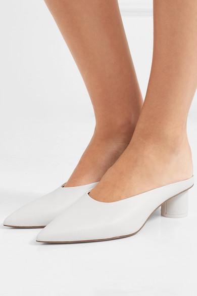 Diane Von Furstenberg Mules Nori leather mules