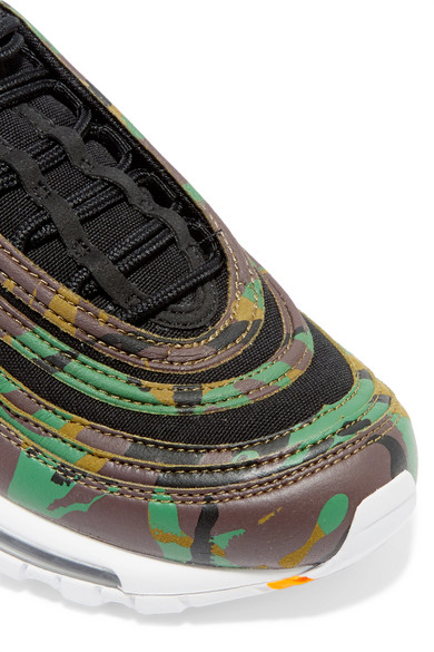 Nike Air Max 97 Country Camo Sneakers Aus Leder Und Canvas