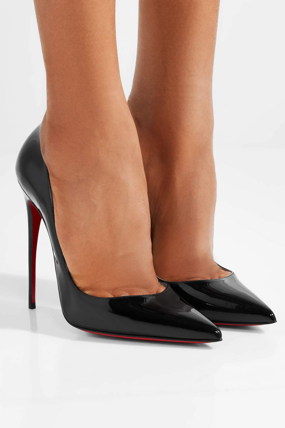 Christian Louboutin So Kate 120 patent-leather pumps