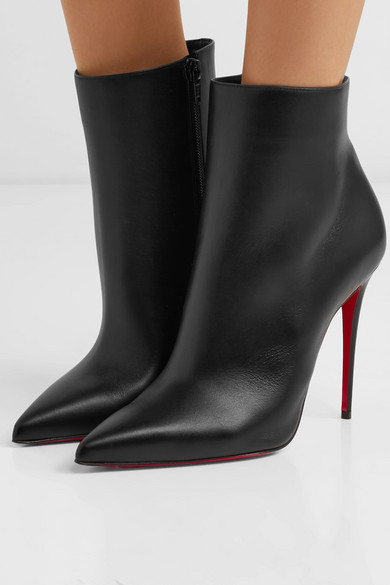 low priced 778c3 e67d0 Christian Louboutin | So Kate 100 leather ankle boots | NET ...