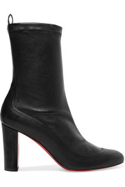 Christian Louboutin Gena 85 leather boots