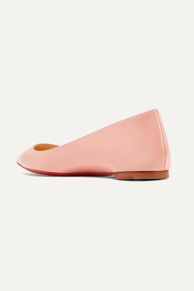 pretty nice 35757 17e90 Christian Louboutin | Ballalla patent-leather point-toe ...