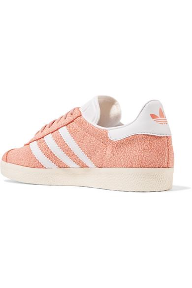 Adidas Originals Sneakers Gazelle cracked-suede sneakers