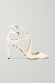 Jimmy Choo Lancer 85 patent-leather pumps