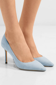 Jimmy Choo Romy 85 suede pumps