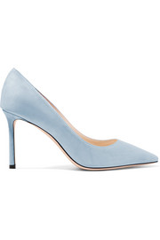 Jimmy Choo Romy 85 Pumps aus Veloursleder