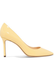 Jimmy Choo Romy 85 Pumps aus Lackleder