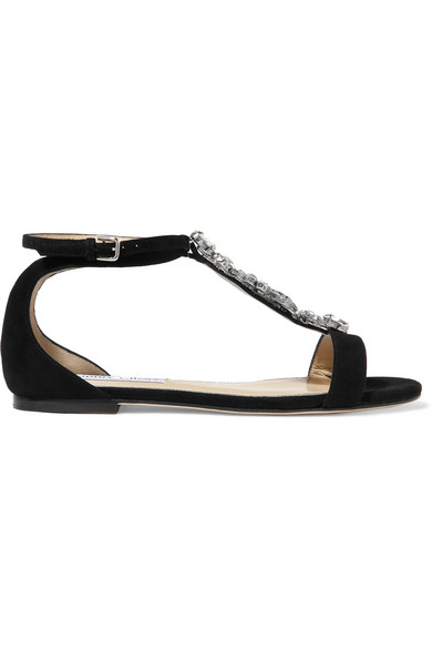 Crystal Suede Crystal Averie Crystal Embellished Embellished Sandals Averie Averie Embellished Suede Sandals 9HW2EYDI