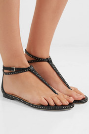 Jimmy Choo Afia studded leather sandals