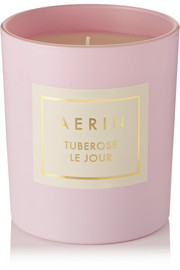 Tuberose Le Jour scented candle, 200g