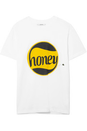 GANNI Harway printed cotton-jersey T-shirt