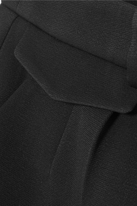 Giorgio Armani Pantalon slim en crêpe de Chine