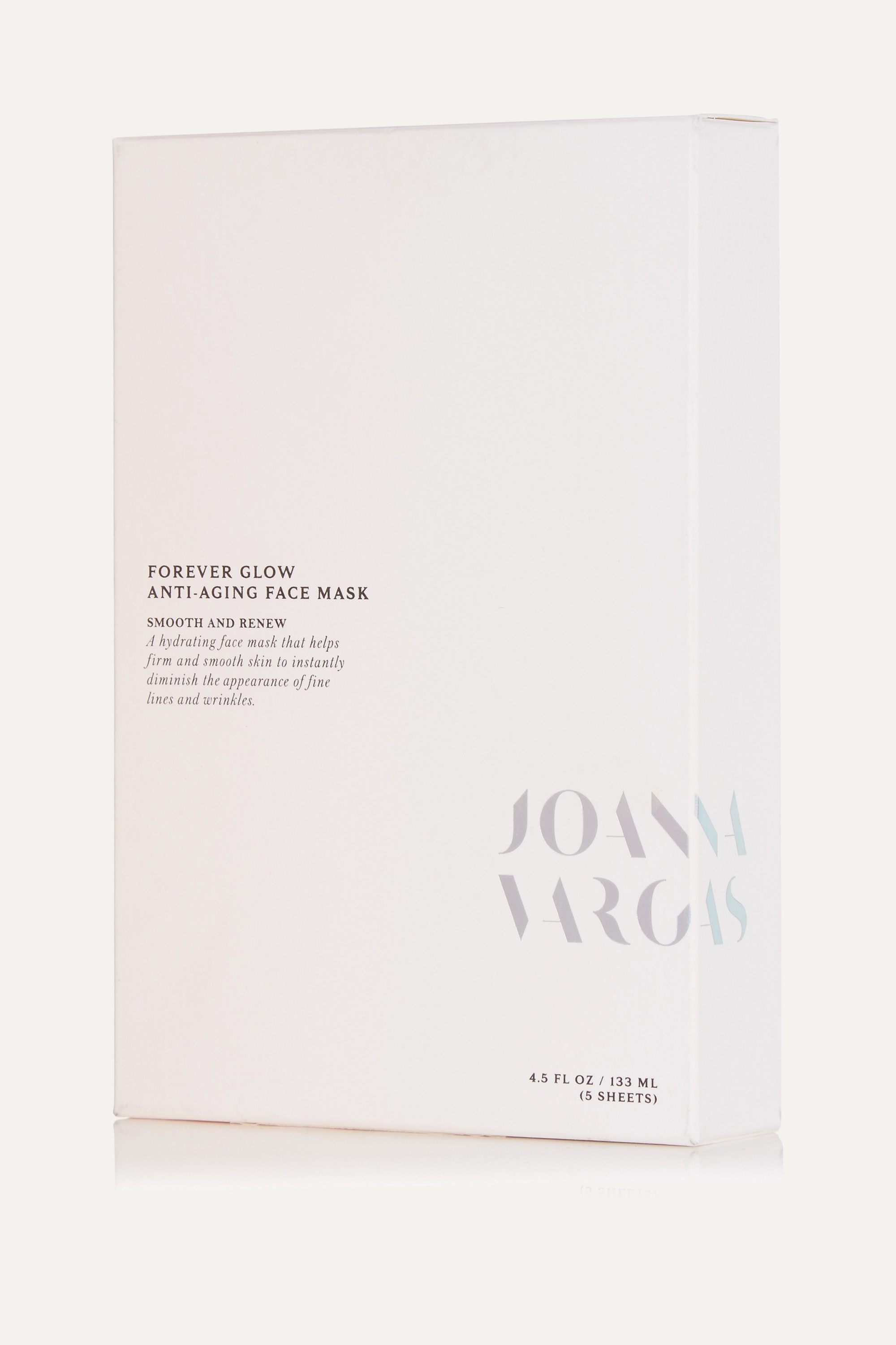 Joanna Vargas Forever Glow Anti-Aging Face Mask x 5
