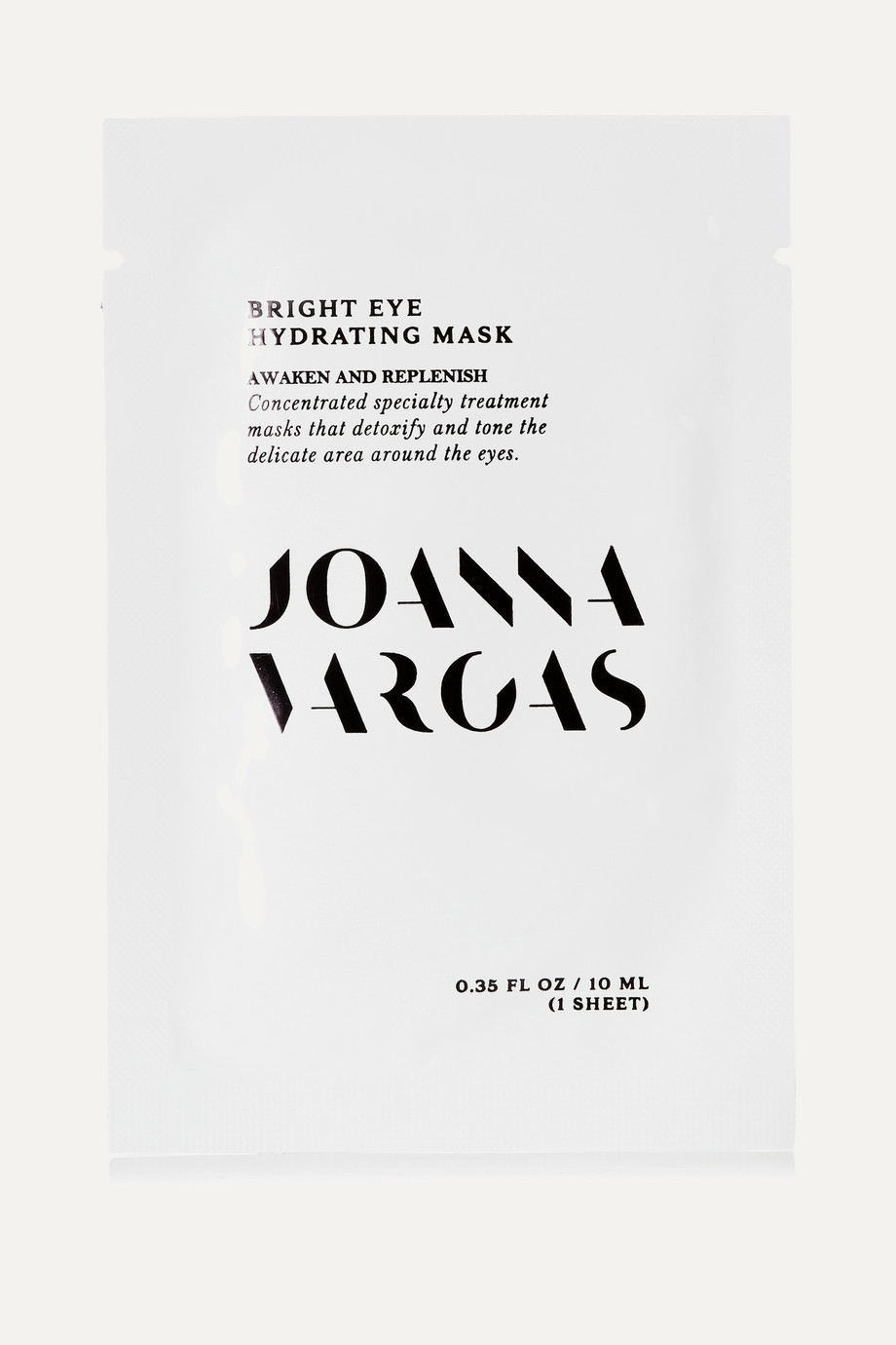 Joanna Vargas Bright Eye Hydrating Mask, 5 x 10ml