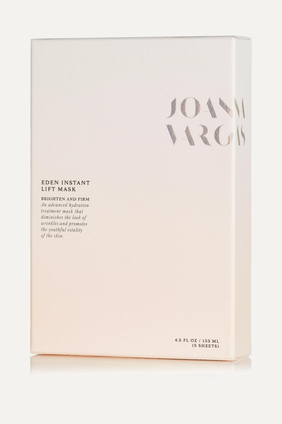 Joanna Vargas Eden Instant Lift Mask – 5 Gesichtsmasken