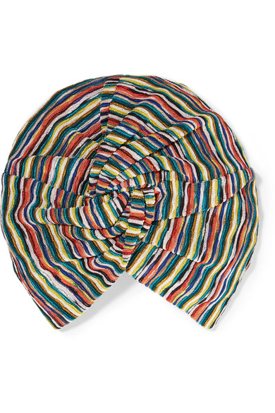 Missoni - Crochet-knit Turban - Red