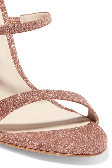 Sophia Webster | Rosalind Sandalen und aus Canvas mit Glitter-Finish und Sandalen Kristallen 9892bd