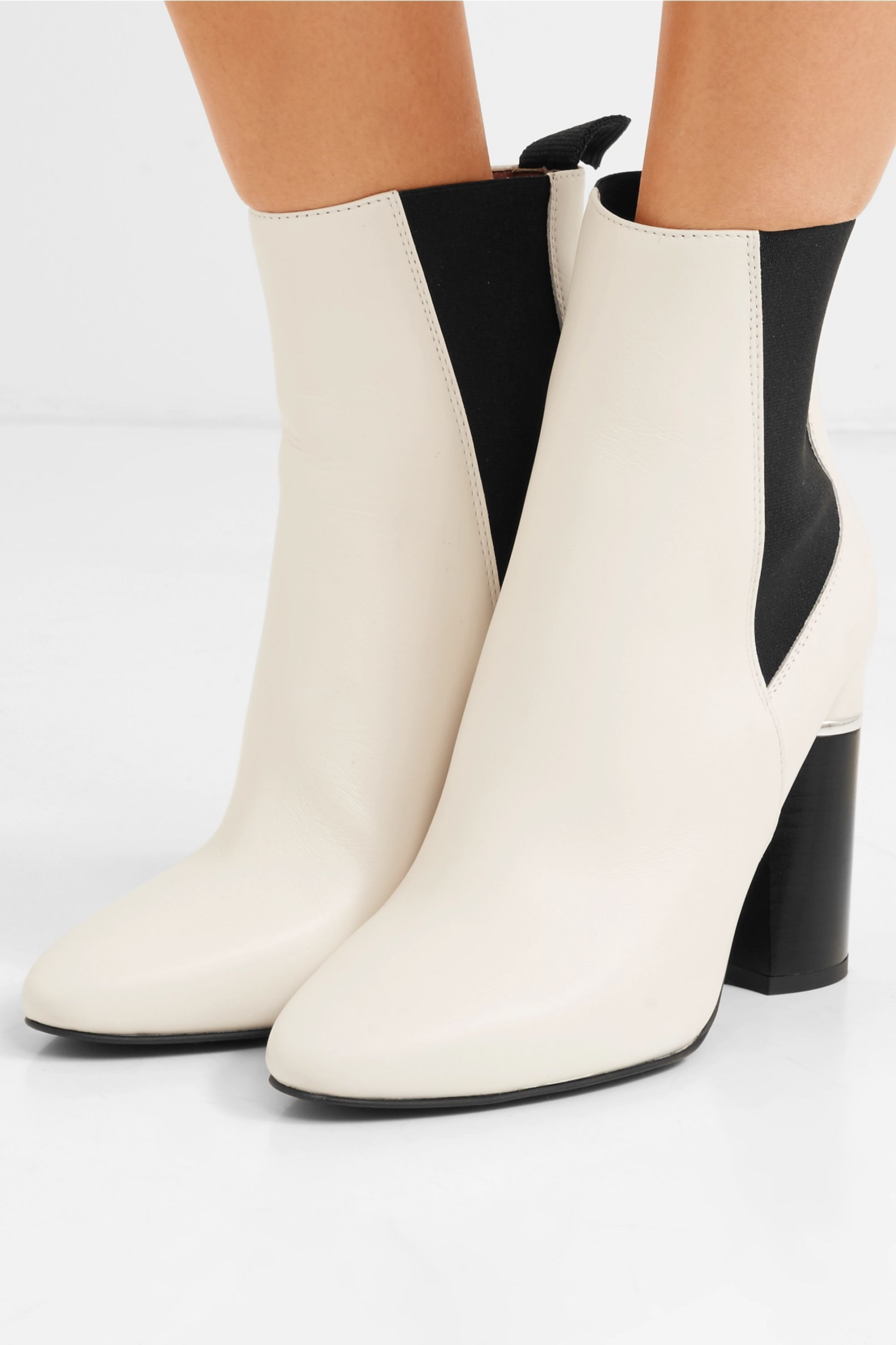 White Drum leather ankle boots | 3.1