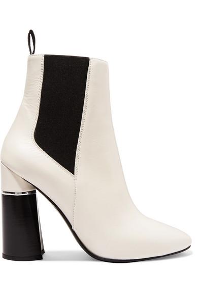 Drum Ankle Boots aus Leder Leder Leder 7d4aeb