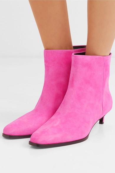 Agatha Suede Ankle Boots - Pink 3.1 Phillip Lim dVlV9dIYlp