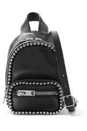 Attica studded leather shoulder bag