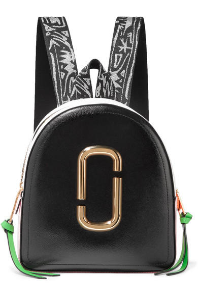 0e975b48444f Marc Jacobs. Pack Shot color-block textured-leather backpack
