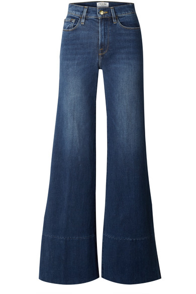 best authentic 67eac 8332c Le Palazzo high-rise wide-leg jeans