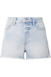 Rigid Re-Release Le Original distressed denim shorts