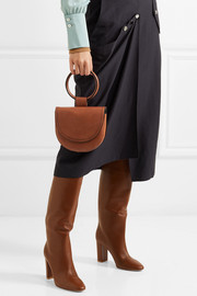 Theory Whitney leather shoulder bag