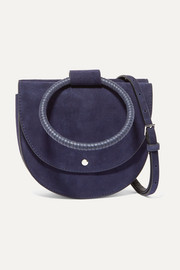 Whitney suede shoulder bag